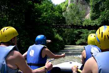 rafting vicino norcia